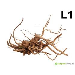 Kořen Finger Wood 51cm L1 (Red Moor wood, Amano wood)