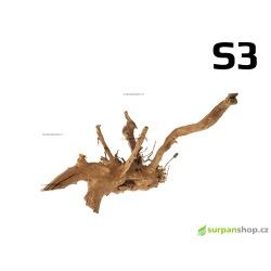 Kořen Finger Wood 33cm S3 (Red Moor wood, Amano wood)