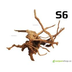 Kořen Finger Wood 24cm S6 (Red Moor wood, Amano wood)