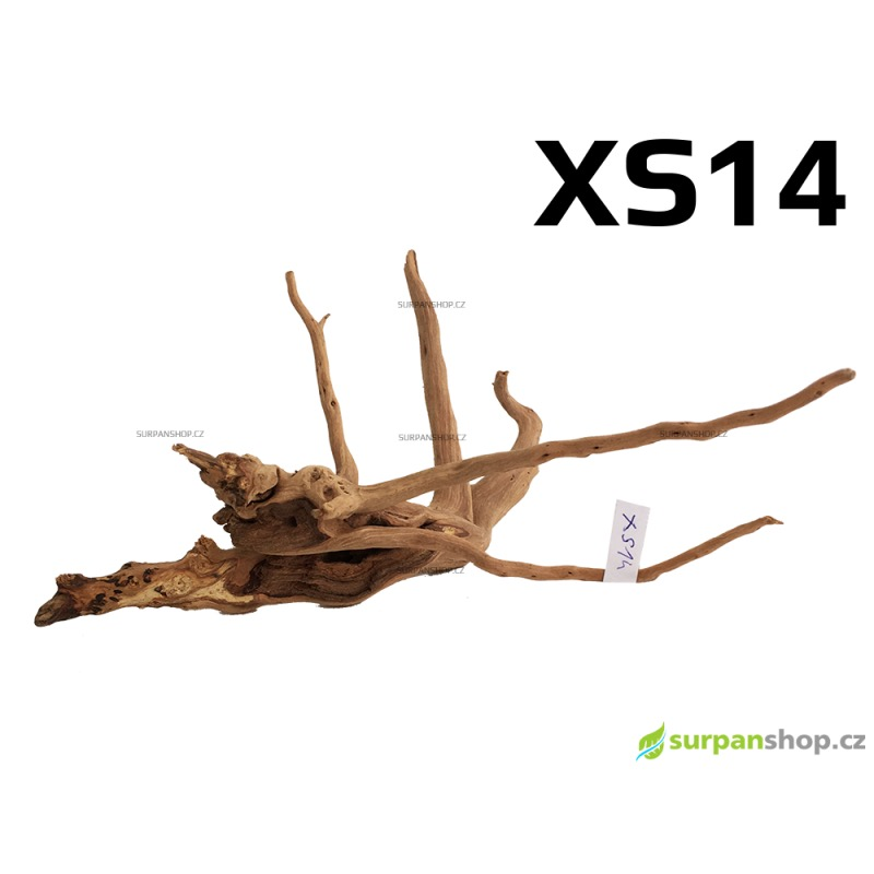 Kořen Finger Wood 18cm XS14 (Red Moor wood, Amano wood)