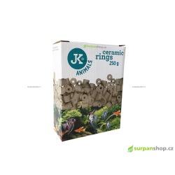 Keramické kroužky JKA-CR250 - filtrační náplň 250 g