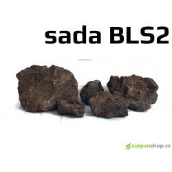 Black Lava Stone - sada BLS2