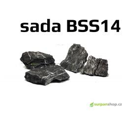 Black Seiryu Stone - sada BSS14