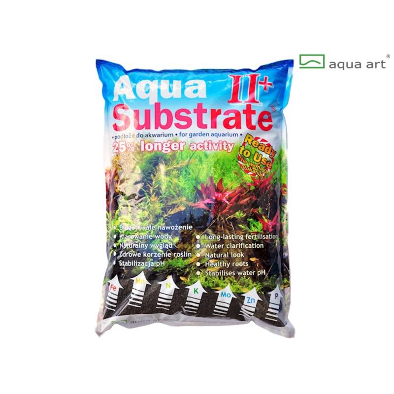 Aqua Art substrát - Aqua Substrate II+ (černý) - 5,4 kg