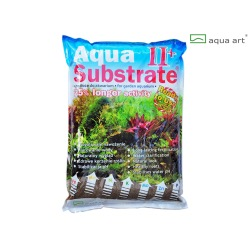 Aqua Art substrát - Aqua Substrate II+ (hnědý) - 5,4 kg