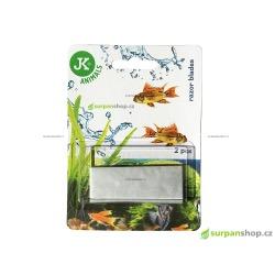 Náhradní žiletky pro akvarijní škrabku LUX 2 ks