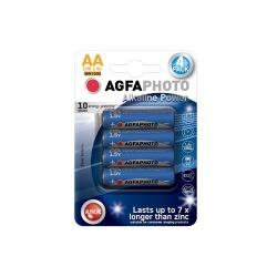 Baterie alkalická Power LR06/AA, blistr 4ks - AgfaPhoto