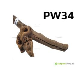 Kořen Plants Wood 28cm PW34