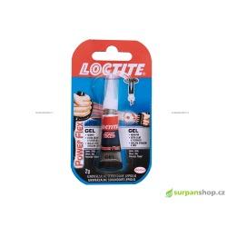 Gelové vteřinové lepidlo Loctite Power Flex Gel 2g na lepení mechů