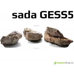 Kameny do akvária Grey Elephant Skin Stone GESS5