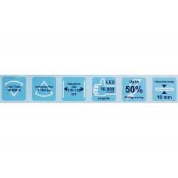 120 cm - LED akvarijní osvětlení JK–LED1200