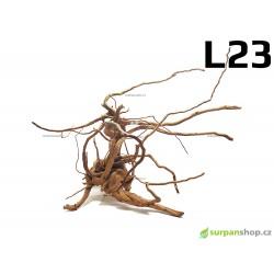 Kořen Finger Wood 70cm L23 (Red Moor wood, Amano wood)