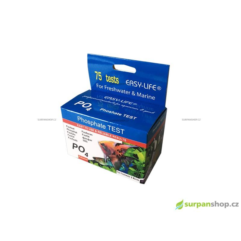 EASY-LIFE Phosphate Test (fosfát), 75 testů