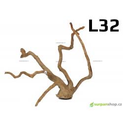 Kořen Finger Wood 59cm L32 (Red Moor wood, Amano wood)