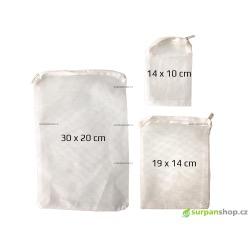 Filtrační síťka bílá - různé velikosti - SURPANshop.cz